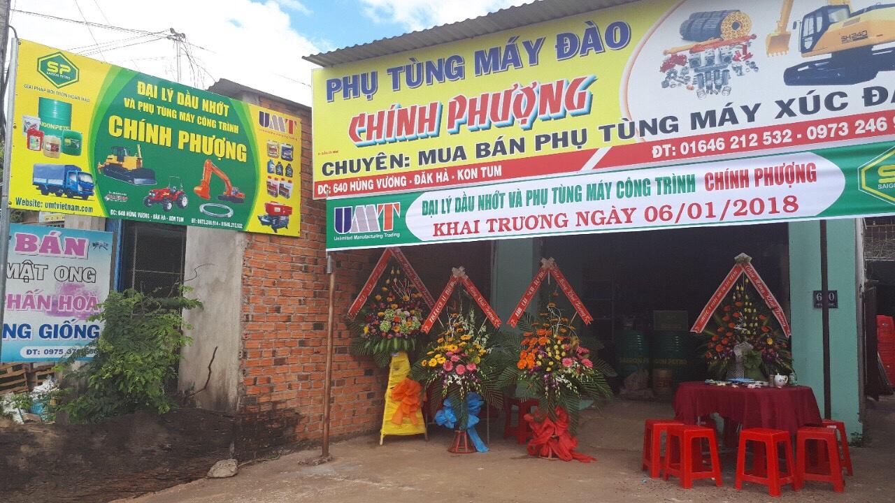 Khai Trương Đại Lý Dầu Nhớt Chính Phượng Thị Trấn Đak Hà, Kontum