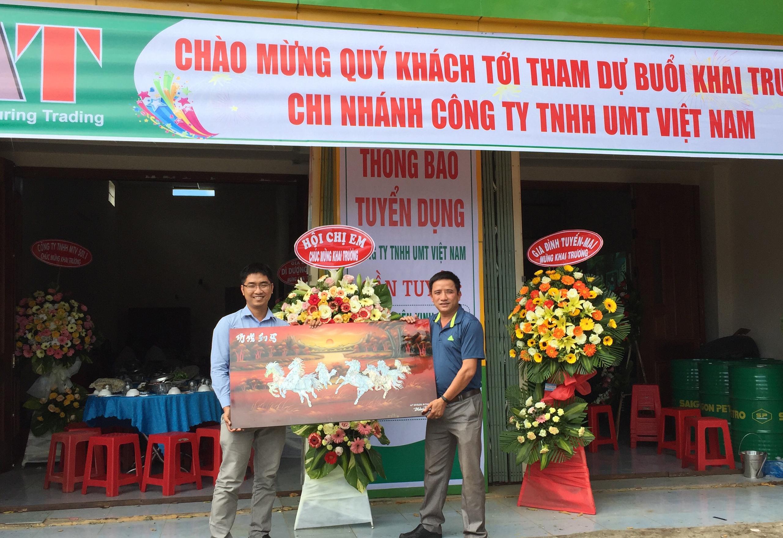 Khai Trương Chi Nhánh công ty TNHH UMT tại Kontum